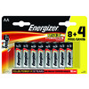BATTERI MAX AA/E91 8+4 12-PACK ENERGIZER