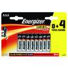 BATTERI MAX AAA/E92 8+4 12-PACK ENERGIZER