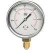 Tryckmätare RF husdiameter 63 mm med dämpvätska