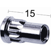Hylsmutter 8 M5