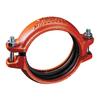 Rillkoppling, stum, röd, för sprinkler typ 009N monteras i odelat skick, Victaulic produktblad 10.64