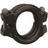 Övergångskoppling mellan Rillad stålrörsände och slätände HDPE-rör
