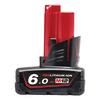 Batteri M12 6 Ah Milwaukee
