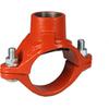 Mekaniskt-T, gängat för sprinkler typ 922, röd PN16, Victaulic produktblad 10.52