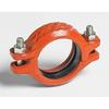Rillkoppling, stum, Zero-Flex, röd, för sprinkler, Typ 07, Victaulic produktblad 06.02